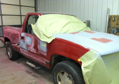 1990 Chevy Truck Before